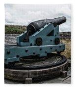 Bastion Gun Fleece Blanket