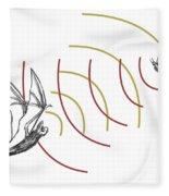 Bat Bio Sonar Fleece Blanket