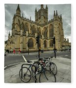 Bath Abbey 2.0 Fleece Blanket