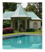 Chanticleer Bath House A Fleece Blanket