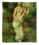Bather 1887 1 Fleece Blanket