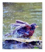 Bathing Beauty Fleece Blanket
