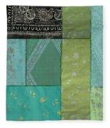 Batik Sky Fleece Blanket