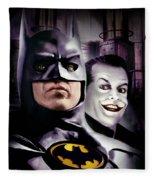 Batman 1989 Fleece Blanket