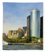 Battery Park Fleece Blanket