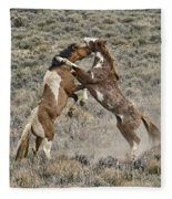 Battle For Dominance Fleece Blanket