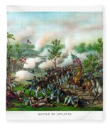 Battle Of Atlanta Fleece Blanket