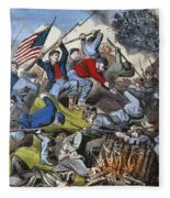 Battle Of Chattanooga 1863 Fleece Blanket