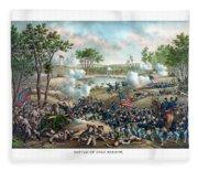 Battle Of Cold Harbor Fleece Blanket