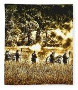 Battle Of Gettysburg Fleece Blanket