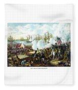 Battle Of New Orleans Fleece Blanket