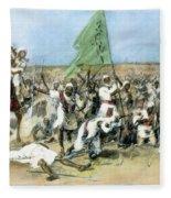 Battle Of Omdurman 1898 Fleece Blanket