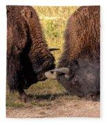 Battle Practise Fleece Blanket