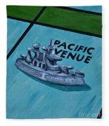 Battle Ship Fleece Blanket