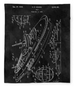 Battleship Patent Fleece Blanket