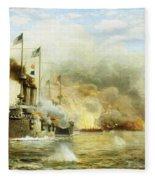 Battleships At War Fleece Blanket