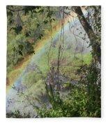 Beauty In The Rainforest Fleece Blanket