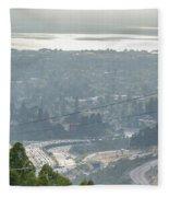 Bay Area Traffic Fleece Blanket