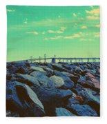 Bay Bridge Fleece Blanket