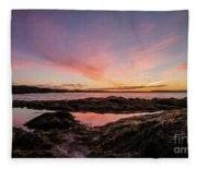 Bay Of Fundy Fleece Blanket
