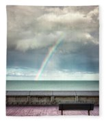 Bay Of Rainbows Fleece Blanket