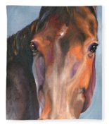 Thoroughbred Royalty Fleece Blanket