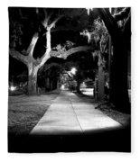 Bay Street Midnight Path Fleece Blanket