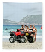 Bay Watch Uk Fleece Blanket