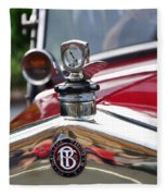 Bayliss Thomas Badge And Hood Ornament Fleece Blanket