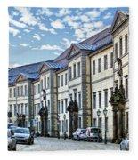 Bayreuth Street Scene Fleece Blanket