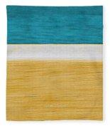 Beach Abstract  Fleece Blanket