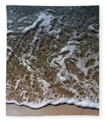 Beach At Grand Turk Ocean Beauty Fleece Blanket