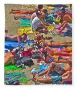 Beach Blanket Bingo Fleece Blanket