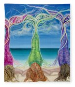 Beach Bliss Buddies Fleece Blanket