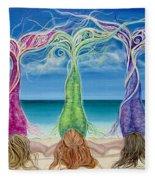 Beach Bliss Buddies Fleece Blanket