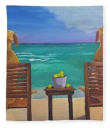 Beach Blondes Fleece Blanket