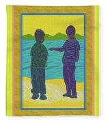 Beach Boys Fleece Blanket