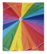 Beach Brolly Fleece Blanket