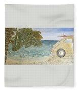 Beach Bug Fleece Blanket
