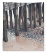 Beach Combing Fleece Blanket