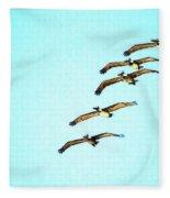 Beach Formation Fleece Blanket