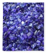 Beach Glass - Blue Fleece Blanket