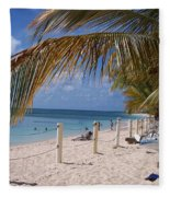 Beach Grand Turk Fleece Blanket