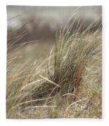 Beach Gras Fleece Blanket