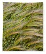 Beach Grasses Fleece Blanket