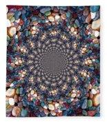 Beach Kaleidoscope Fleece Blanket