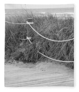 Beach Lines Fleece Blanket