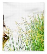 Beach Love Fleece Blanket
