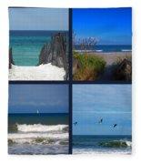 Beach Multiples Fleece Blanket