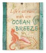 Beach Notes-jp3763 Fleece Blanket